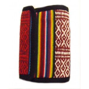 Rainbow Wallet - Handmade in Nepal - Stylish, Colourful & Fair Trade - 100% cotton