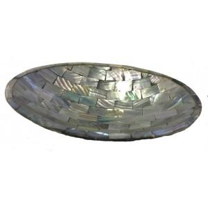 Beautiful Iridescent Paua Shell Soap Dish from Java - Fair Trade