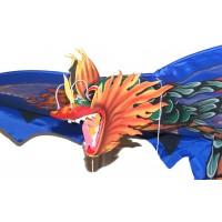 Large Traditional Handmade Blue Balinese Dragon Kite