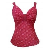 100% Cotton Beautiful Geometric Print Karen Strappy Top - Fair Trade